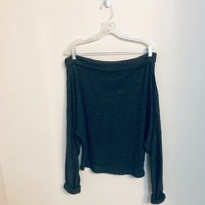 SOLD — Free People Off The Shoulder Sweater